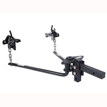 "Picture of Husky Towing  501-800 Lb Round Bar Weight Distribution Hitch w/10"" Shank 31422 14-1069"