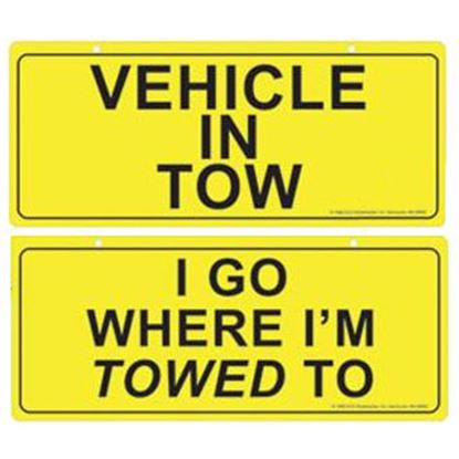 Picture of Roadmaster  Vehicle in Tow Window Sign 770-2 14-2688