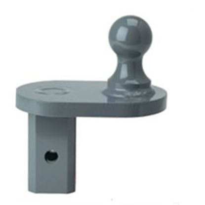 "Picture of B&W Hitches Turnoverball (TM) 4"" Offset Gooseneck Trailer Hitch Ball GNXA4085 14-2917"