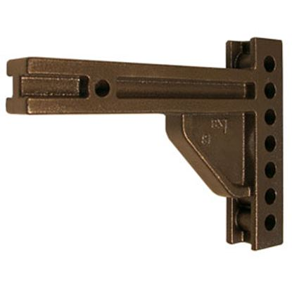 """Picture of Blue Ox  11""""L Weight Distribution Hitch Shank w/ 6 Mounting Holes BXW4000 14-5270"""