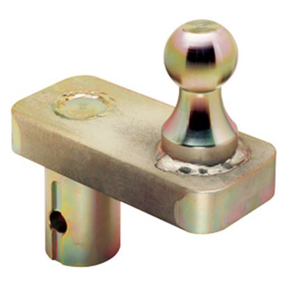"Picture of Draw-Tite  20K 2-5/16"" Ball 5"" Offset Gooseneck Trailer Hitch Ball 19308 14-7117"