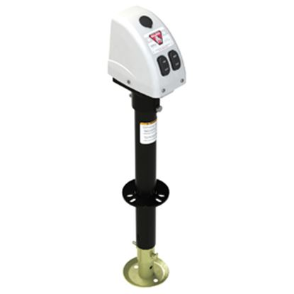 Picture of Bulldog-Fulton  White/Black 3500 Lb A-Frame Powered Drive Trailer Jack 500188 15-0154