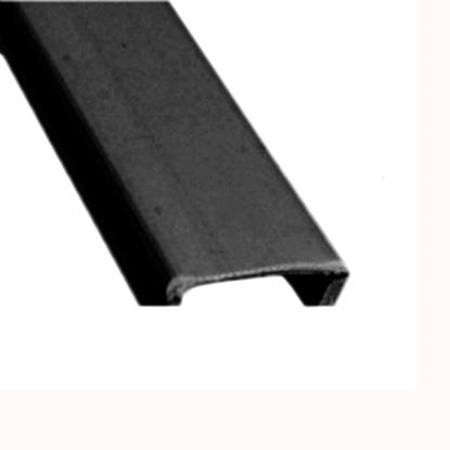 "Picture of AP Products  5-Pack Black Plastic 9/16""W X 8'L Trim Molding Insert 011-355-5 15-0395"