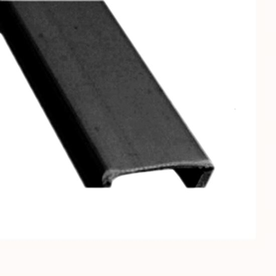 """Picture of AP Products  5-Pack Black Plastic 5/8""""W X 8'L Trim Molding Insert 011-363-5 15-0446"""