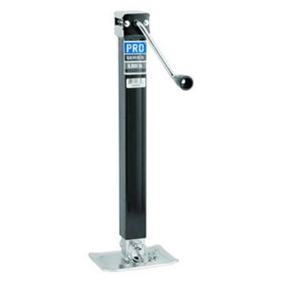 Picture of Pro Series Hitches Sidewind Black 8000 Lb Square Tube Trailer Jack 1400850383 15-1072