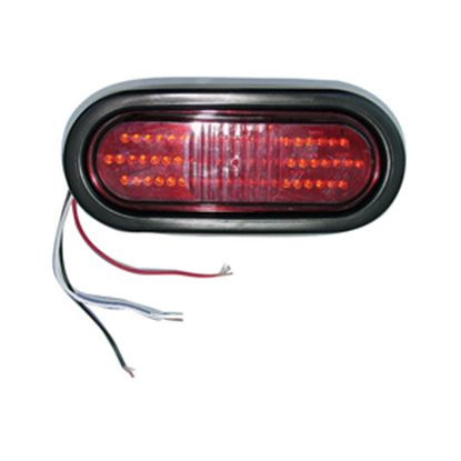 "Picture of Command  Red 6-1/2""x2-1/4""x2-1/8"" 22 LED Stop/ Turn/ Tail Light 003-5500R 18-0226"