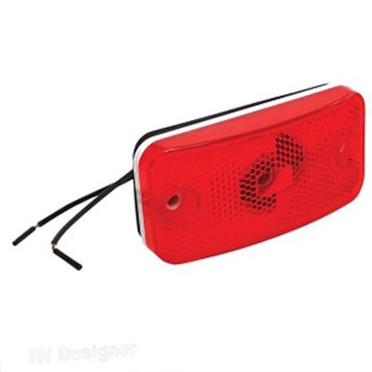 Picture of RV Designer  Red Fleetwood Clearance Light E395 18-0418