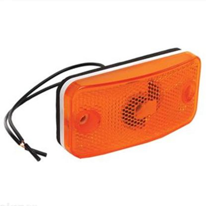 Picture of RV Designer  Amber Fleetwood Clearance Light E397 18-0423