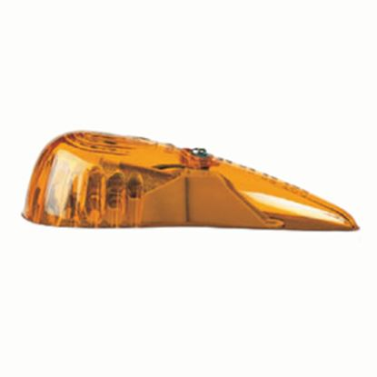 Picture of Peterson Mfg.  Amber Lens for Peterson Series 118A/KA 118-15A 18-0448