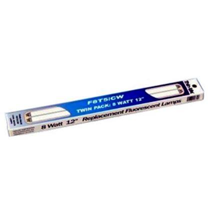 """Picture of Thin-Lite  Flourescent Bulb, 12"""" L, 8 watt, 2/box F8T5/CW/TWIN 18-0768"""