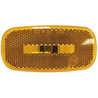 Picture of Peterson Mfg.  Amber Clearance/Side Marker Light Lens for Peterson Series 562-1/566-1 V2549-15A 18-1429