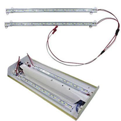 "Picture of Diamond Group  2-Pack Daylight White 18""L LED Strip Interior Light DG65102VP 18-1486"
