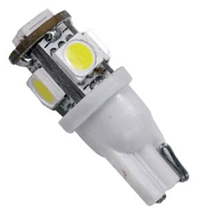 Picture of Arcon  #194 Bulb, 5 LED , Bright White 12V 50557 18-1667