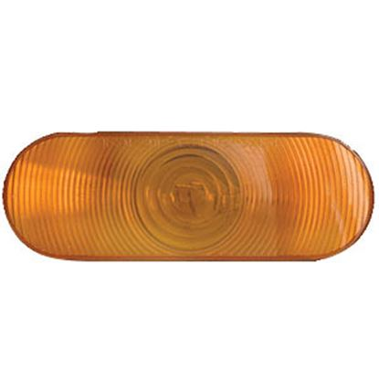 """Picture of Optronics ST70 SERIES Red 6"""" Oval Stop-Turn-Tail Light Only ST-70ABP 18-1861"""