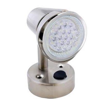 Picture of Diamond Group  White Surface Mount 12V LED Reading Light DG52641VP 18-2121