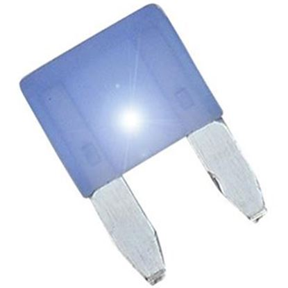Picture of Diamond Group  2-Pack Time Delay 15A ASP Mini Blue Blade Fuse DGIF112VP 19-0002