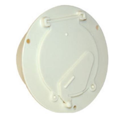 Picture of Zebra  Colonial White Cable Hatch Access Door  19-0191