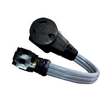 "Picture of Voltec  12"" 15A/30A Power Cord Adapter 16-00568 19-0608"