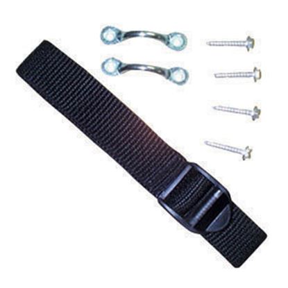 """Picture of JR Products  54"""" Black Battery Box Strap 17544 19-0754"""