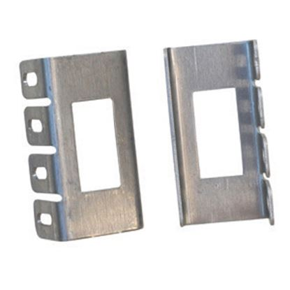 Picture of Diamond Group  Single Opening Aluminum Switch Plate Cover Mounting Bracket DGRB1VP 19-1989