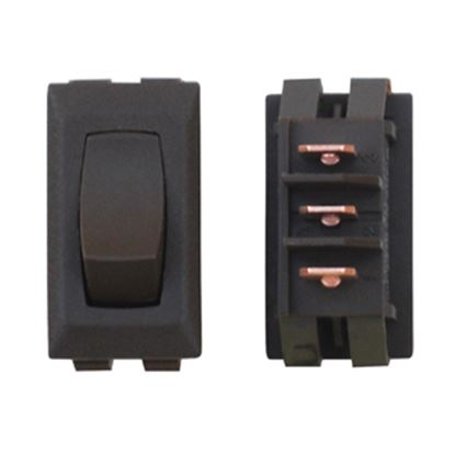 Picture of Diamond Group  1-Piece Brown SPST Rocker Switch DG53UVP 19-2071