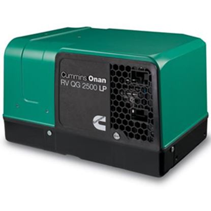 Picture of Cummins Onan Quiet Gasoline (TM) 2500W LP Vapor Electric Start Generator 2.5HGJBB-1121 19-3265