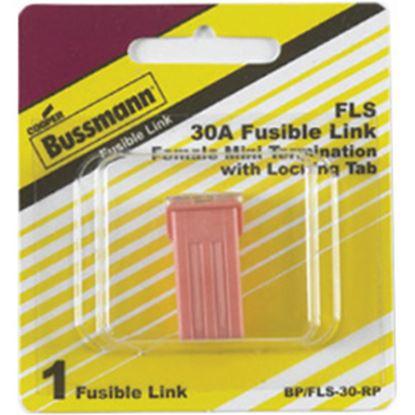 Picture of Bussman FL Series 30A Miniature Female Fuse BP/FLS-30-RP 19-3434
