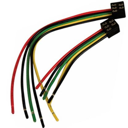 """Picture of Diamond Group  5-Pin Square 12"""" Slide Out Wiring Harness DG1212VP 19-5019"""