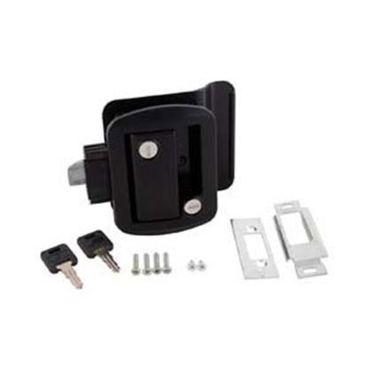 Picture of AP Products  Black Global Travel Trailer Lock Entry Door Latch 013-570 20-0031