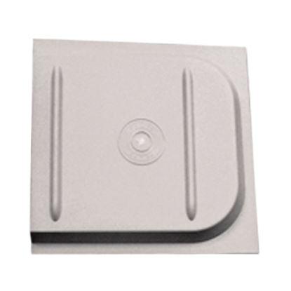 Picture of Dexter Door  Smoke ABS Plastic Screen Door Slide w/ Stop 4401-36 20-0081