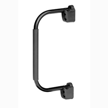 """Picture of Stromberg Carlson Lend-a-Hand 22"""" Black Aluminum Entry Step Hand Rail AM-255 20-0137"""