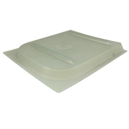 """Picture of Valterra P Series 11-11/16""""H X 11-7/8""""W Smoke Plastic Screen Door Slide W/Stop A77022 20-0159"""