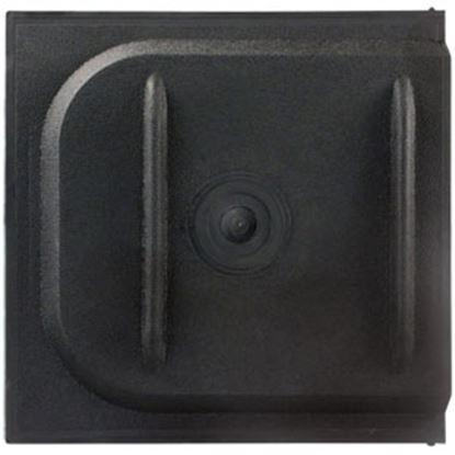 """Picture of JR Products  12""""W Black Screen Door Slide 11175 20-1334"""
