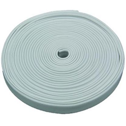 """Picture of AP Products  Polar White Plastic 5/8""""W X 25'L Trim Molding Insert 011-370 20-1390"""