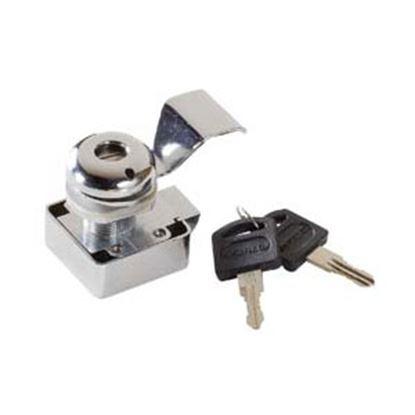 Picture of RV Designer  SLAM CAM CHROME LOCKING  5 KEY L600 20-1485