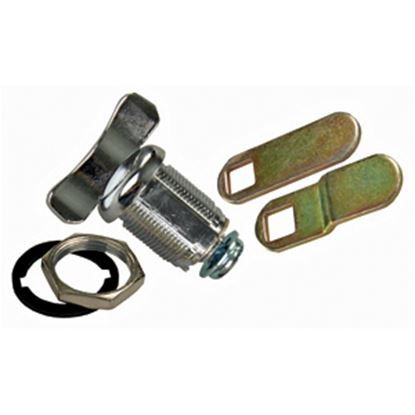 "Picture of JR Products  1-1/8"" Baggage Door Thumb Lock 00135 20-1636"