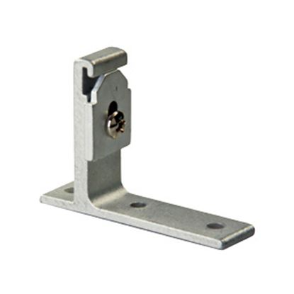 Picture of JR Products  2-Pack Wall Mount L Shape Window Curtain Track Mounting Bracket 81175 20-1919