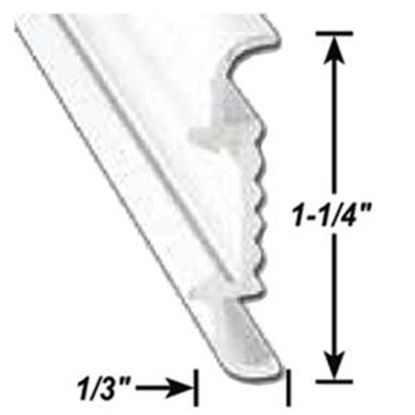 "Picture of AP Products  1-1/4""W x 1/3""T x 8'L Aluminum Insert Molding Trim 021-56403-8 20-6966"