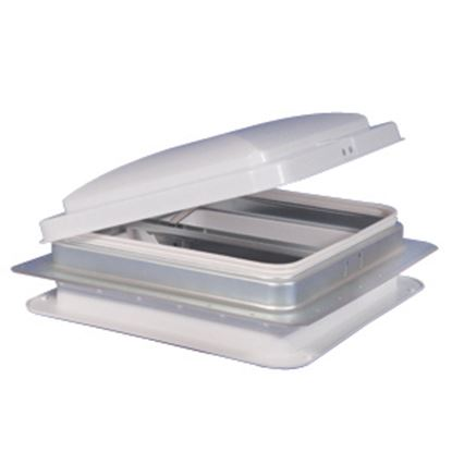 """Picture of Heng's  14""""x14"""" Metal Frame Roof Vent 75111-C1G1 22-0203"""