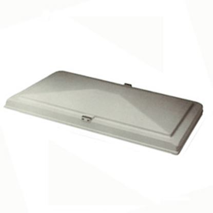 "Picture of Heng's  13"" X 20"" White Exit Vent Lid for Hengs/ Elixir 90007-C1 22-0354"