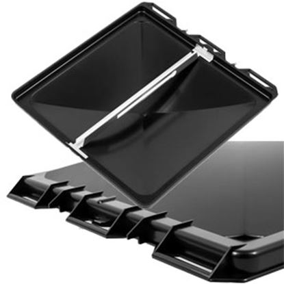 "Picture of Camco  Black Polypropylene 14"" x 14"" Jenson Style Roof Vent Lid 40173 22-0420"