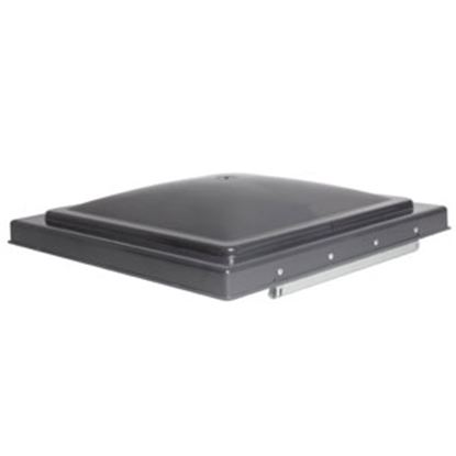 "Picture of Camco  Smoke Polypropylene 14"" x 14"" Ventline Style Roof Vent Lid 40146 22-0672"