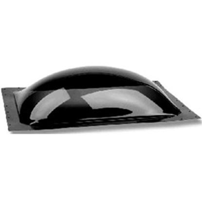 """Picture of Specialty Recreation  4-1/2""""H Bubble Type Dome Square Smoke Black PC Skylight SL2222S 22-0706"""