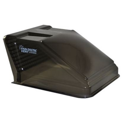 "Picture of Fan-Tastic Vent  Exterior Dome Gray Opaque Roof Cover For 14"" X 14"" Vents w/Pack U1500GR 22-2240"