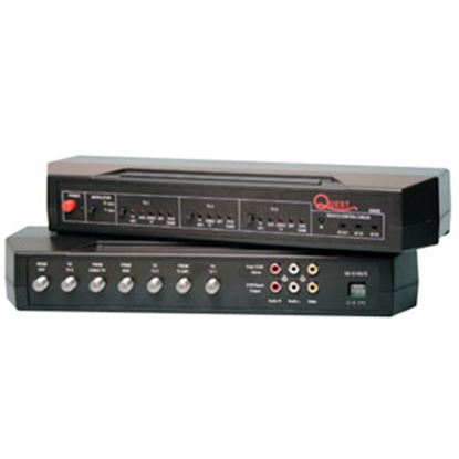 Picture of Quest Tech  Antenna/ Cable/ Satellite Dish/ DVD/ VCR Audio/ Video Selector QS53E 24-0208