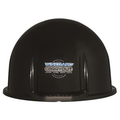 Picture of Winegard Carryout (TM) Black Satellite TV Antenna Dome For Carryout (R) RP-GM35 38-0304