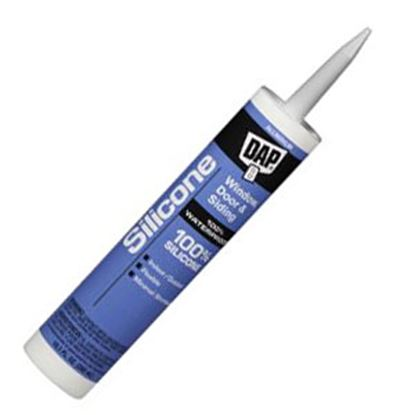 Picture of DAP  Aluminum 10.1 Oz Silicone Caulk 08643 69-0045