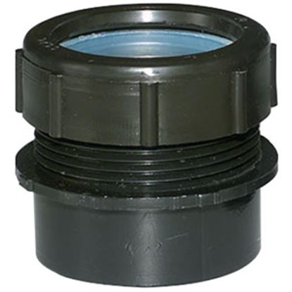 """Picture of Lasalle Bristol  1.5"""" Male Spigot X 1.25"""" MPT ABS Trap Adapter Waste Valve Fitting 632801A2 69-6012"""