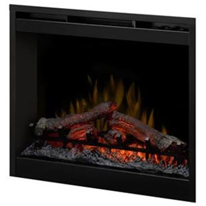"""Picture of Wesco Dimplex 26.5""""x26.5"""" Electric Fireplace Insert  69-8056"""