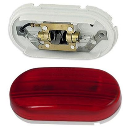 "Picture of Grote  Red 4"" x 2"" Side Marker Light 45262 69-9062"
